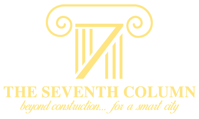 Logo The Seventh Column Travaux Tous Corps d'Etat Footer